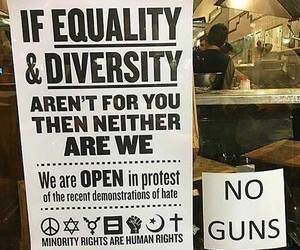 equality, guns, and human rights image