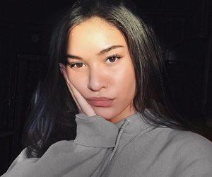 makeup, model, and natural light image