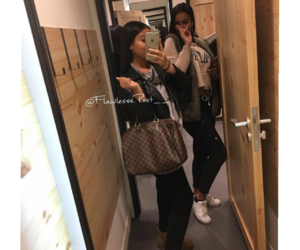 shab, Louis Vuitton, and luxe image