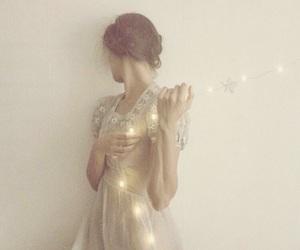 braid, dress, and fairy image