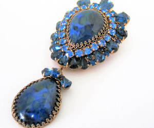 etsy, vintage brooch, and made in austria image