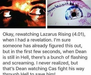 supernatural, dean winchester, and hell image