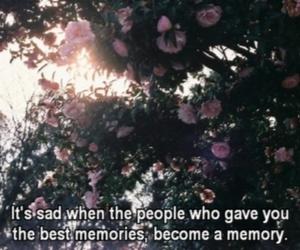 memories, sad, and quotes image