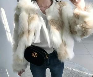 coat, cozy, and fashion image
