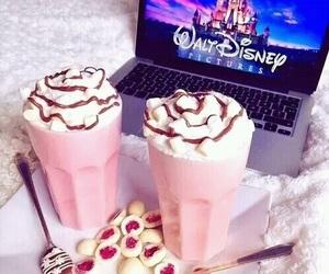 disney, food, and pink image