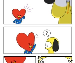 bt21, tata, and chimmy image