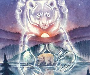 spirit bear and thornwolf image