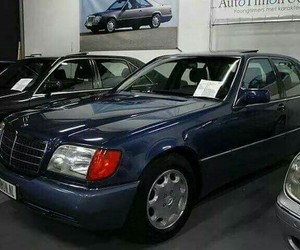 mercedes, mercedes benz, and w124 image