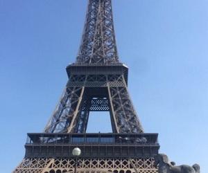 beautifull, paris, and sky image