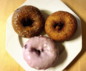 desserts, donuts, and doughnuts image