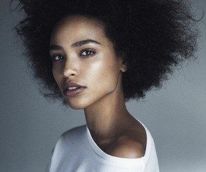 girl, Afro, and beautiful image