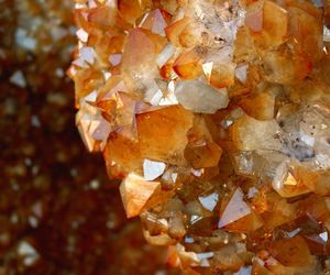citrine, crystals, and gems image