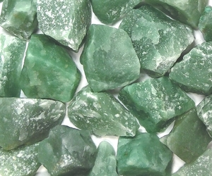 crystals, gems, and green image