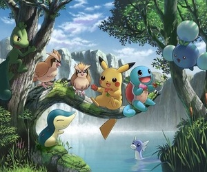 anime, hoenn, and squirtle image