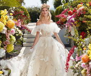 beautiful, fashion, and wedding dress image