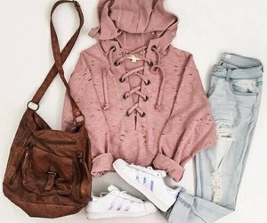 girly, outfit, and style image