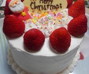 cake, fresas, and pastel image