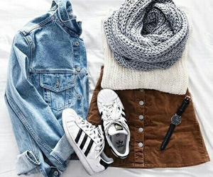 basic, cool, and outfit image