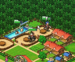 cheval, forest, and game image