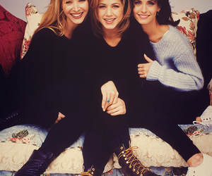 friends, phoebe, and rachel image