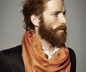 beard, handsome, and ginger image