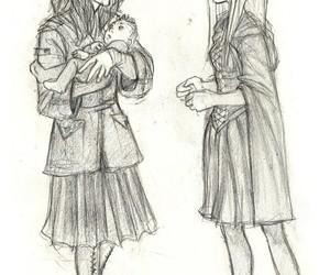 harry potter, hogwarts, and war image