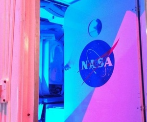 nasa, space, and aesthetic image