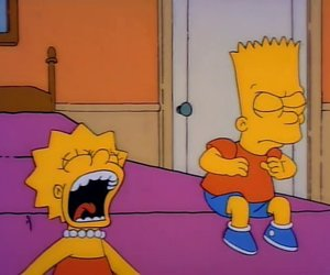 bart simpson, homer simpson, and marge simpson image
