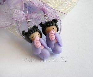 earrings, jewelry, and doll image