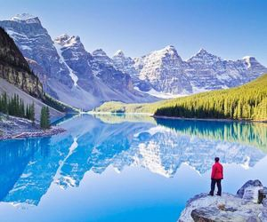 canada, banff, and travel image