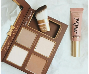 aesthetic, brush, and too faced image