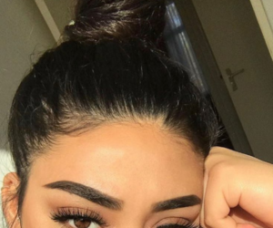 hair, lashes, and brows image