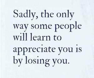 lose, quote, and sad image