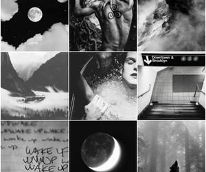 background, blackandwhite, and layout image