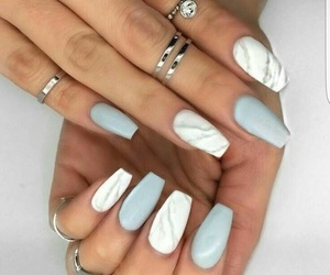 nails, rings, and marble image