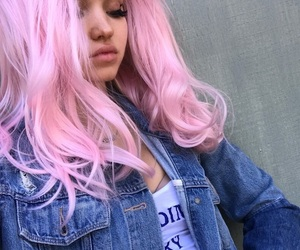 dove cameron and pink hair image
