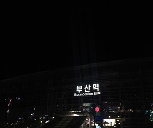 busan, aesthetic, and black image