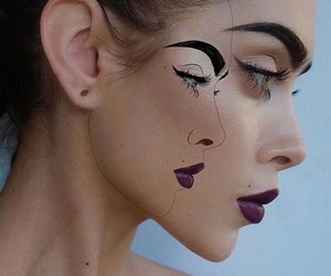 eyebrows, outlines, and fashion image