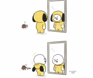 bts, chimmy, and bt21 image