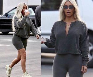 kim, outfit, and yeezy image