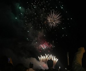 fireworks, night, and aesthetic image