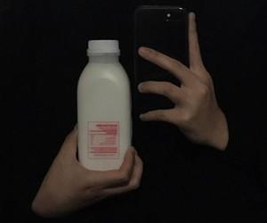 aesthetic, alternative, and milk image