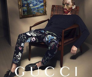 gucci, fashion, and art image