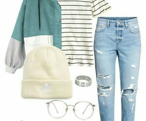 clothes, fashion, and jeans image