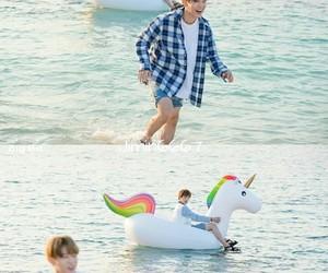 boys, unicorn, and jin image