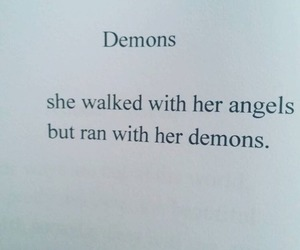 quotes, angel, and demon image