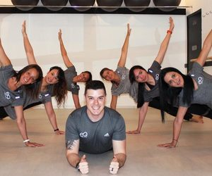 pilates, classes, and fitness image