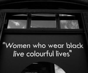 black, colours, and quotes image