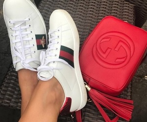 gucci, bag, and shoes image