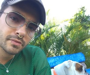 beautiful boy, bill kaulitz, and dogs image